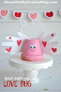 Terra Cotta Pot Love Bug - Kid Craft