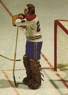 Ken Dryden, playing behind one of the most formidable teams in the history of sports.