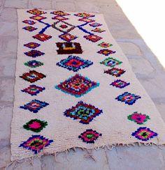 Azilal rug  rag by HandiraBlankets on Etsy
