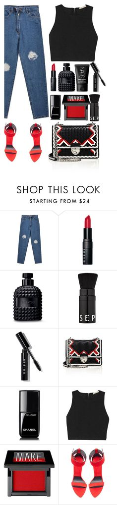 """""""Top Fashion Sets for Aug 31st, 2016 /  Mind"""" by tamaramanhardt ❤ liked on Polyvore featuring Bobbi Brown Cosmetics, Valentino, Sephora Collection, Prada, Chanel, Alice + Olivia, Make, Zara and NARS Cosmetics"""