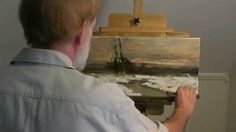 Painting with Dennis Sheehan!