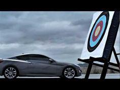 Vídeo: Hyundai enfrenta al nuevo Genesis Coupé contra... un arquero