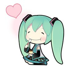 Hatsune Miku - Official Stickers
