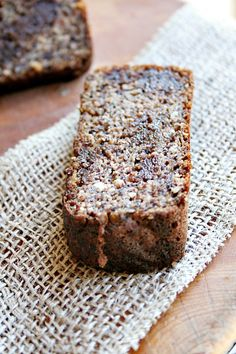 Banana Bread {grain free} with Chocolate Chips - Heather's French Press