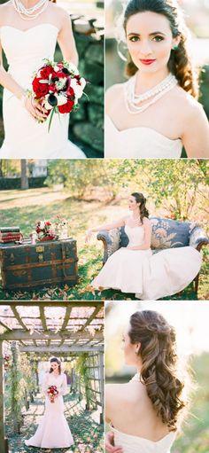 Vintage glamor. #wedding #zappos @Arielle Gordon Gordon Doneson Corrigan (Arielle Doneson Photography)
