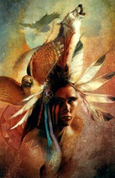 Wolves and Native American Indians.The wolf represents courage , strength and loyalty. In Shoshone mythology the wolf plays the role of the noble Creator god. . native-language.org