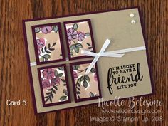 Cricut OSW 6 x 6 One Sheet Wonder Project with Share What You Love Specialty Designer Series Paper Card Making Templates, Card Making Tutorials, Making Ideas, Handmade Sheet, Paper Cards, Men's Cards, Cards Diy, Folded Cards, One Sheet Wonder