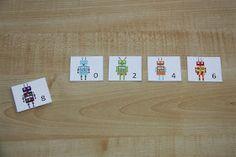 Counting Coconuts: Mini Unit - Robots