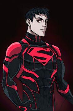 Superboy Sketch by LucianoVecchio on deviantART