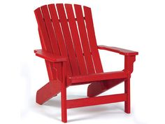 Red Plastic Adirondack Chairs - Home Furniture Design Home Furniture, Furniture Design, Outdoor Furniture, Beach Chair With Canopy, Plastic Adirondack Chairs, Outdoor Chairs, Outdoor Decor, Red Design, Sit Back And Relax