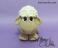 PATTERN Sheep Amigurumi Crochet by HavvaDesigns on Etsy
