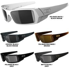 sale on oakley sunglasses  oakley gascan sunglass white frame black lens for sale