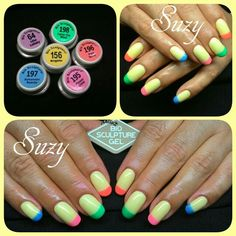 Suzy bio sculpture nail art Bio Sculpture Nails, Gel Color, Suzy, Nail Art Designs, Design Ideas, Colours, Nail Design, Nail Art