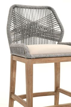Orient Express Loom Counter Stool