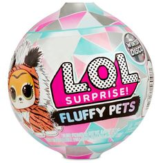 LOL Surprise Fluffy Pets, Winter Disco, 9 sorprese, One Random Toys For Girls, Kids Toys, Fluffy Animals, Fluffy Pets, Glitter Globes, Pet Style, Gift Finder, Party Bag Fillers, Lol Dolls