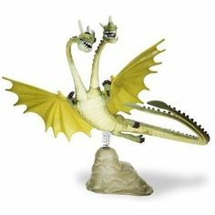 Zippleback Dragon Toy | ... How To Train Your Dragon Zippleback 4 Inch Scale Action Figure