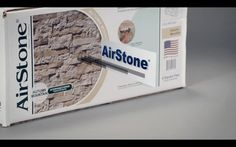Airstone at lowe's for back splashes, tub wall, cement foundations, empty walls...
