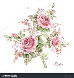 stock-photo-watercolor-floral-composition-of-roses-in-bud-525937708.jpg (1500×1600)