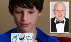Alopecia sufferer Jacob Fitzpatrick, 14, has credited Little Britain star Matt Lucas with helping him regain his confidence after the comedian surprised him with a special message.