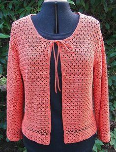 crochet cardigans on pinterest | Clementine - crochet cardigan