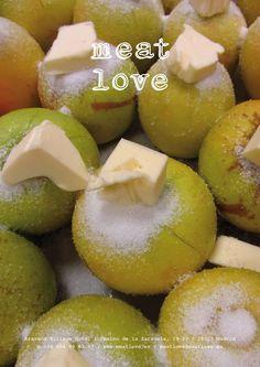 meat love | planes de fin de semana | ¡preparando postres deliciosos!, ¿podrás elegir entre tarta quebrada de manzana asada, de queso y frutas glaseadas, tiramisú de mascarpone, brownie,  sopa de fresa o sorbete al cava…?