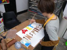 Placard making workshop for the Art Party Conference. Art Party, Conference, Workshop, Wall Cupboards, Atelier