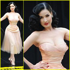 Dita at Wonderbra
