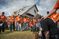 Samaritan's Purse volunteers arrived in Moore and Shawnee, Okla., within hours after several storms, including an EF-5 tornado, devastated t...