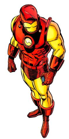 Iron Man. This art, this look, reminds me when I was a kid in the 1970's, and reading comics.