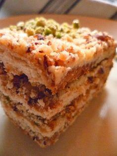 La Cuisine de Nadia: Gâteau Courant d'Air - Khobzet El Ehwe - Recette F...