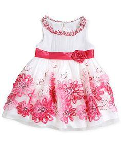 Bonnie Baby Baby Girls' Special Occasion Dress -  Macy's