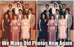 Photo Repair Wizards offers enhancement of color faded images. Our experts will enhance the contrast, colors, lighting, and tone. For a free estimate visit http://www.photorepairwizards.com Low prices! #photoretouching #photorestoration #giftideas #photoeffects #specialeffects #photorepair #retouching #PhotoManipulation #ColorCorrection #PhotoEditing #Colorization