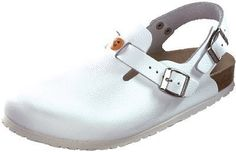 Birkenstock from Leather in White with a regular insole Birkenstock. $90.62. leather