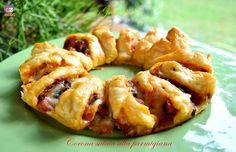 Corona+salata+alla+parmigiana,+ricetta+favolosa!
