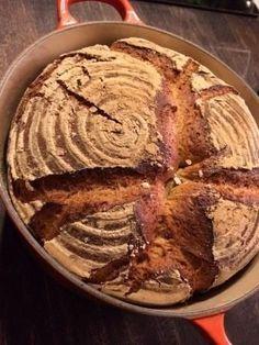 Unser täglich Brot: Landbrot aus dem Topf. Idiotensicher. Ok, nicht ganz… – Germanabendbrot