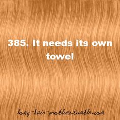 Long hair problems: Yes, this is true...:/ I wish my family could understand me on this!!!