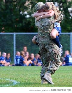 Dad Surprises Daughter at Soccer Game - so many feels