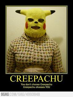 Creepachu  loves everyone