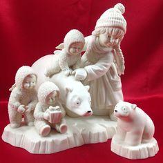 Department 56 Snowbabies Nice To Meet You Little One 2 Piece Set