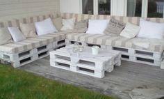 sofa de pallet - Pesquisa Google
