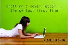 4 Cover Letter Openers That Score the Interview - Career Girl NetworkCareer Girl Network Cover Letter Tips, Cover Letter For Resume, Cover Letters, Do It Yourself Organization, Check Up, Future Jobs, Resume Tips, Resume Help, To Infinity And Beyond