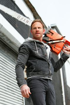'Sharknado Ian Ziering on Filming While Freezing, Chippendales Comeback Sharknado 4, Sharknado Movies, Celebrity Gossip, Celebrity Photos, Ian Ziering, Hooray For Hollywood, Original Movie, Horror Films, Feature Film