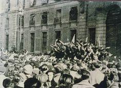 Entrada de los nacionales en Madrid
