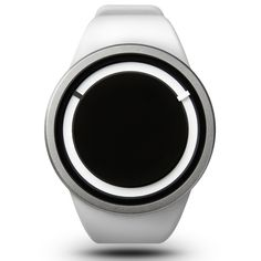 Eclipse watch in snow by Ziiiro. Available at Dezeenwatchstore.com #watches