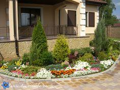 Ландшафтный дизайн перед домом | Красивый Дом и Сад