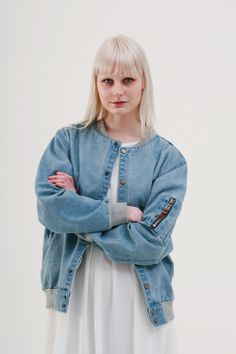 Back to school? Back to work? Either way, today's a struggle in the drizzle. Perk things up with our oversized denim bomber jacket!  http://www.thewhitepepper.com/collections/coats-jackets/products/oversized-denim-bomber-jacket