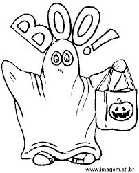 BOO Ghost Halloween Coloring Page   Free Printable Coloring Pages