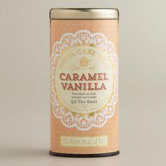 The Republic of Tea Caramel Vanilla Cuppa Cake Tea, 50-Count