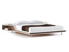 Imitation leather double bed AYRTON by ESTEL GROUP design Ora- Ïto