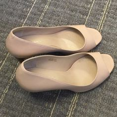 "Via Spiga Heels Gently worn in office only , no scuff or mark.  3"" heels Bandolino Shoes Heels"